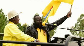 President Museveni campaigns for Idi Amin Taban