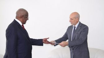 Kutesa Receives EU Envoy's Credentials as Sudanese Ambassador Ends Duty