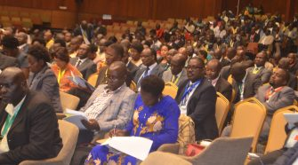 Gov't officials and heads of agencies attending the Bugdget Conference at Serena Hotel