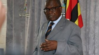 Minister of Public Service Muruli Mukasa