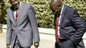President Elect Uhuru Kenyatta with his Deputy William Ruto