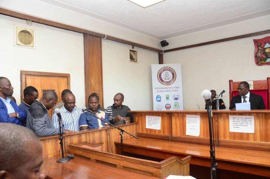 The Accused Red Pepper Editors And Directors In Court On Monday