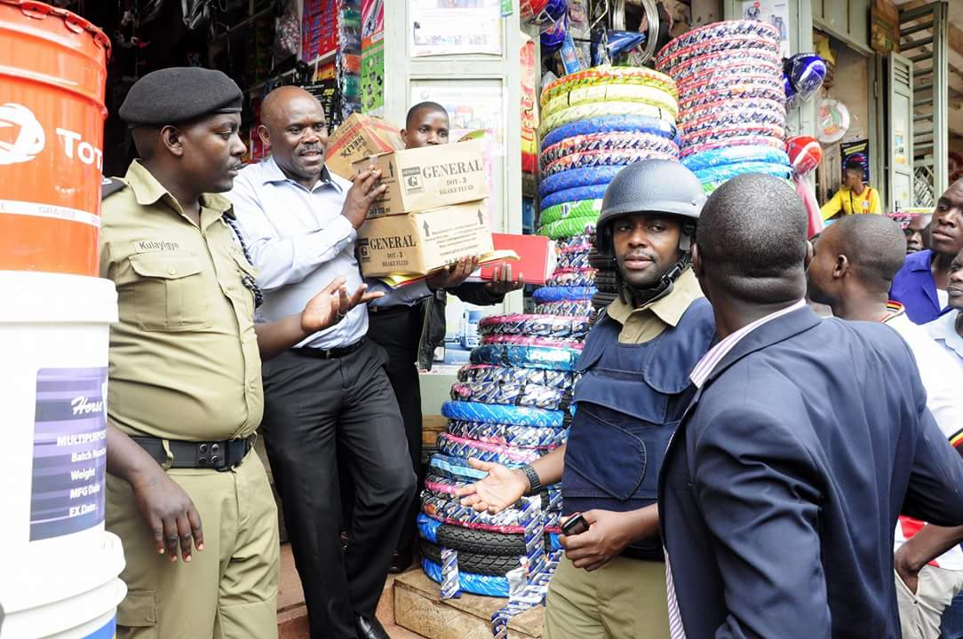 Police Say Market Flooded with Counterfeit Goods After Kisekka