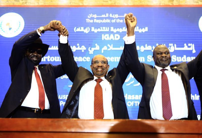 Kiir, Machar Agree on Permanent Ceasefire in Latest S Sudan