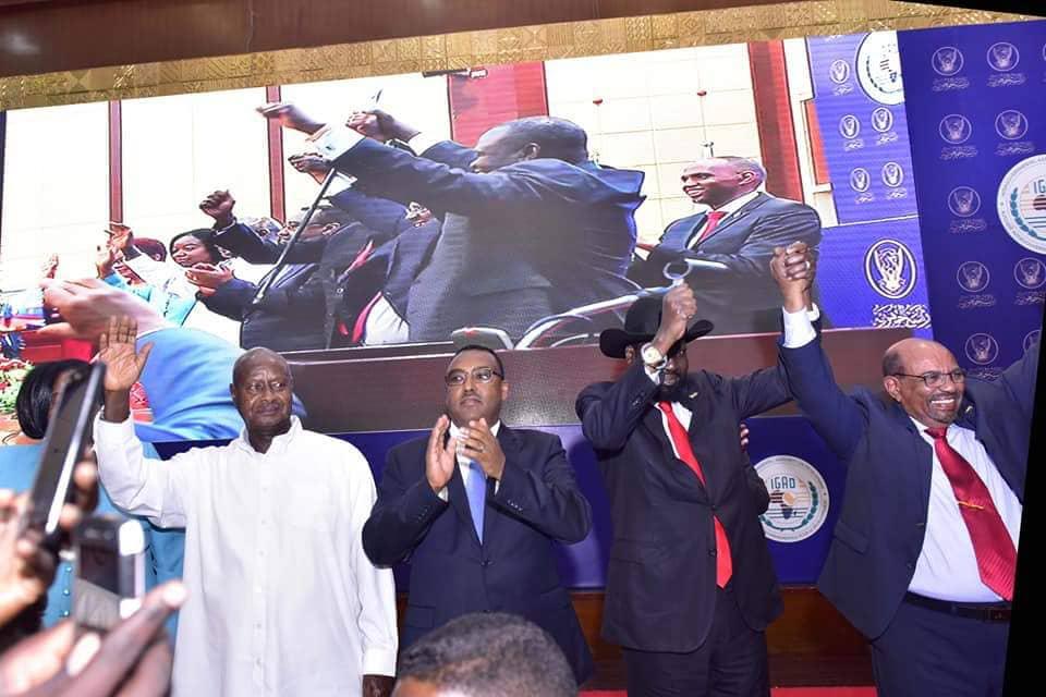 Museveni Condemns 'Politics of Opportunism' as Kiir, Machar