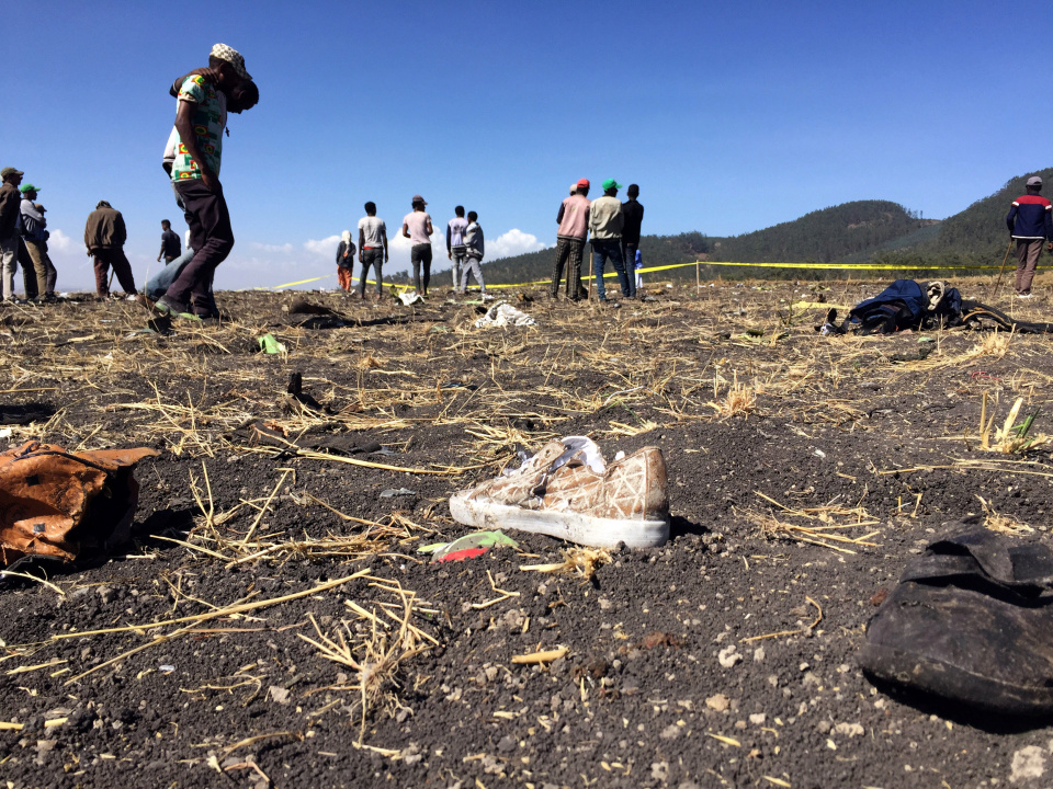 Ethiopian Airlines flight to Nairobi crashes killing all 157 people onboard