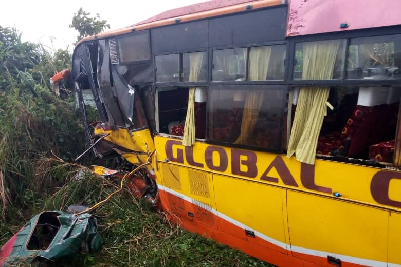 Two Dead, Others Hospitalized After Bus Accident in Mpigi