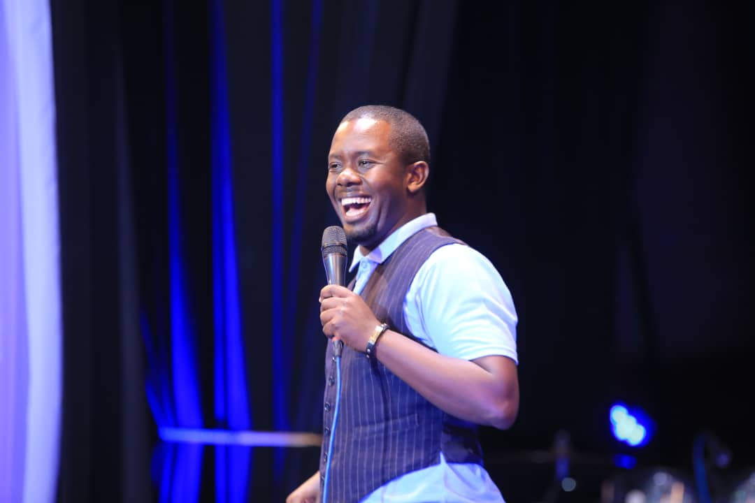 Richard Tuwangye Hit a Home Run with His Maiden Stand-up