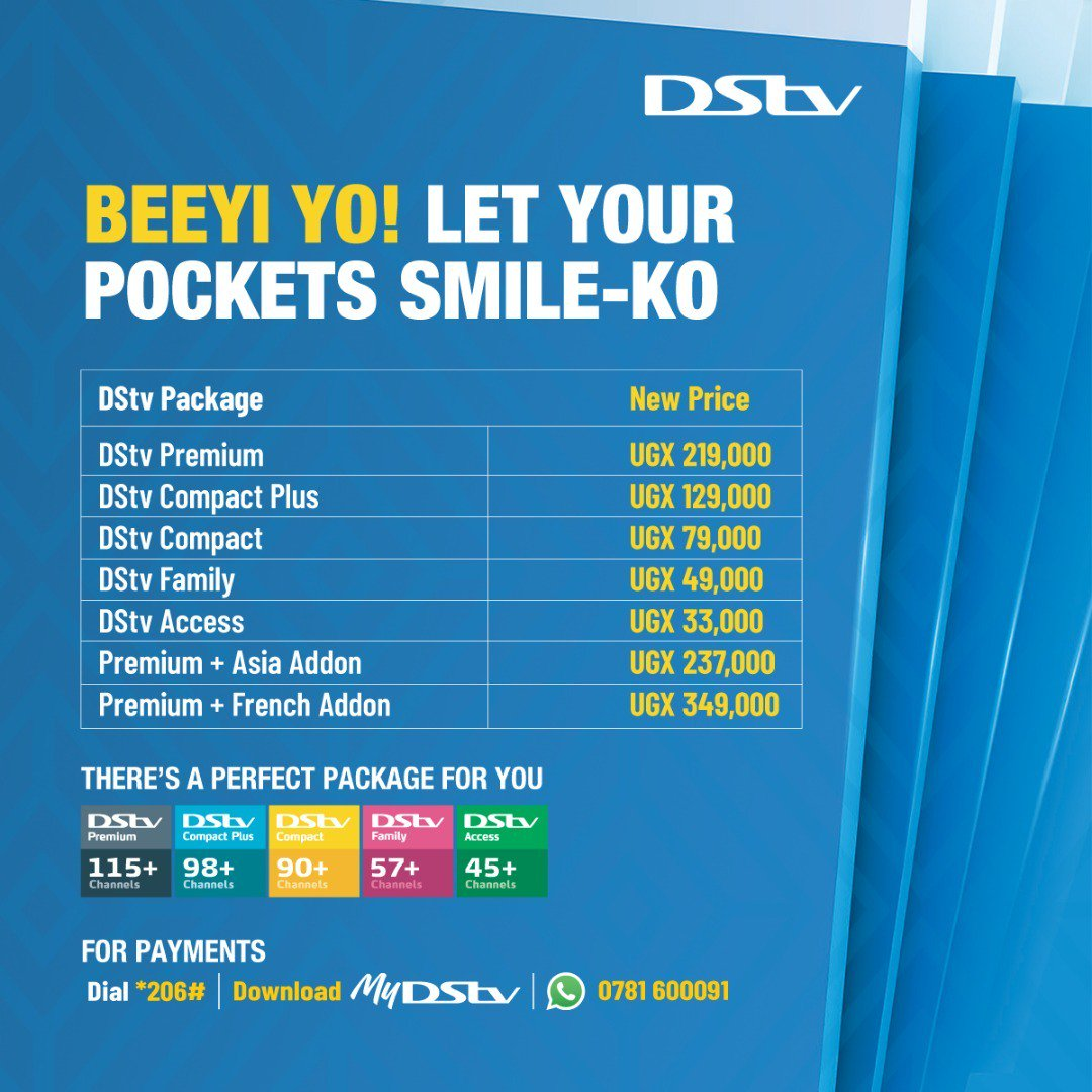 MultiChoice Uganda Effects Price Cuts for DStv, GOtv Viewers