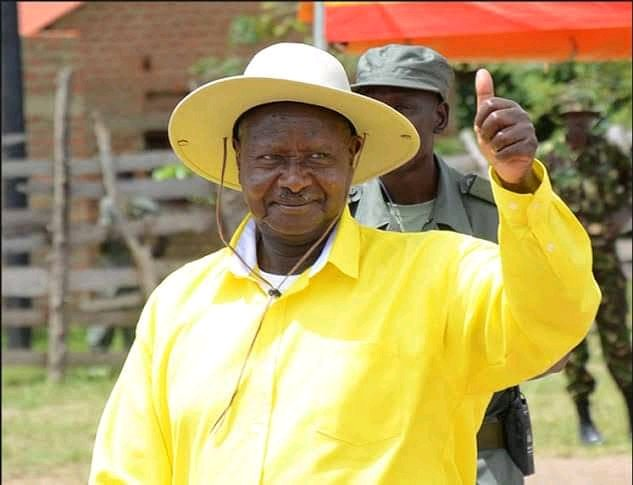 Museveni Picks Nomination Forms for Party Flag Bearer, Chairman ...